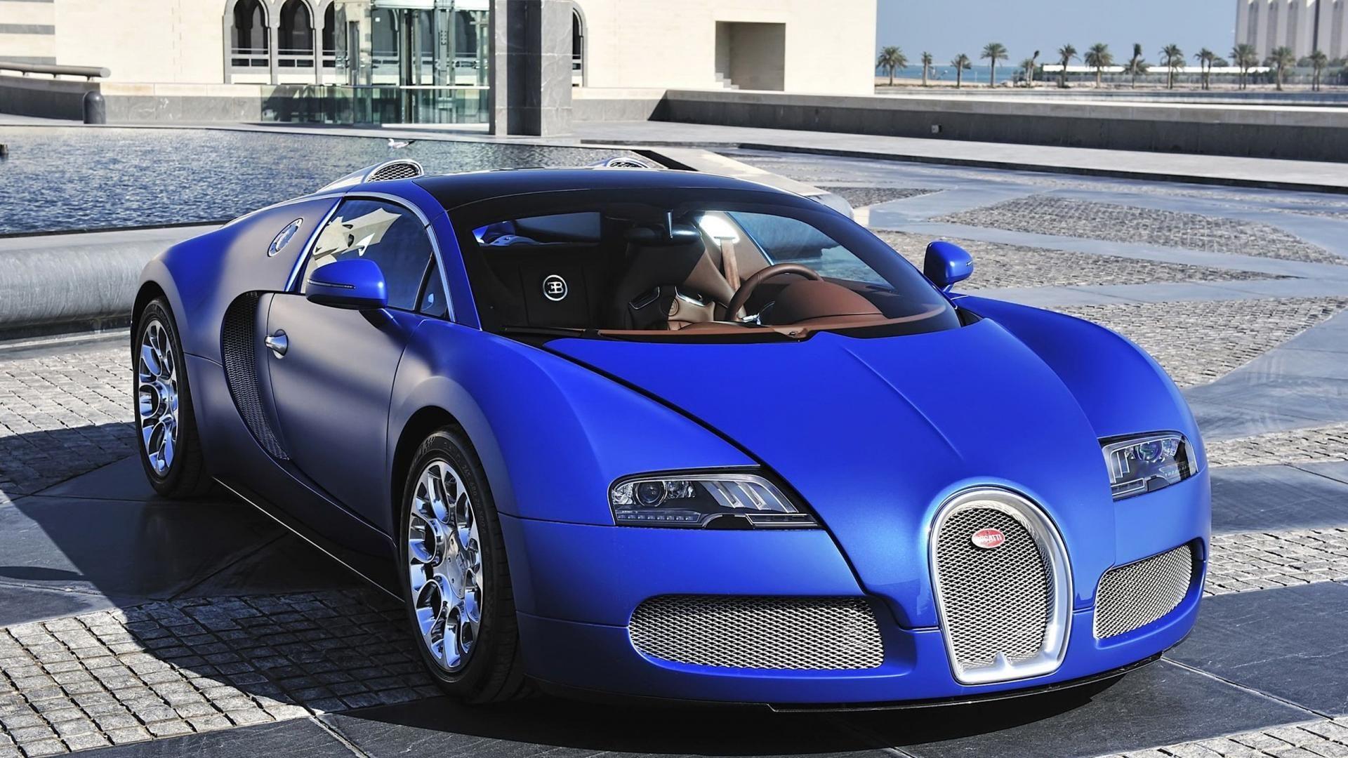 Blue Bugatti Veyron: Car AncestryBugatti Veyron Grand Sport