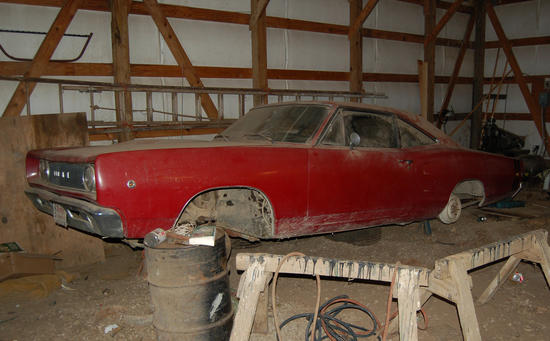 Youre Looking At Another Barn Find That Sat Dormant For Far Too Long Luckily This Rare Muscle Car