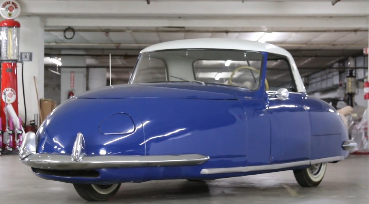 Car ancestrythree wheeling the 1948 davis divan car for Divan cars ovalia 05e