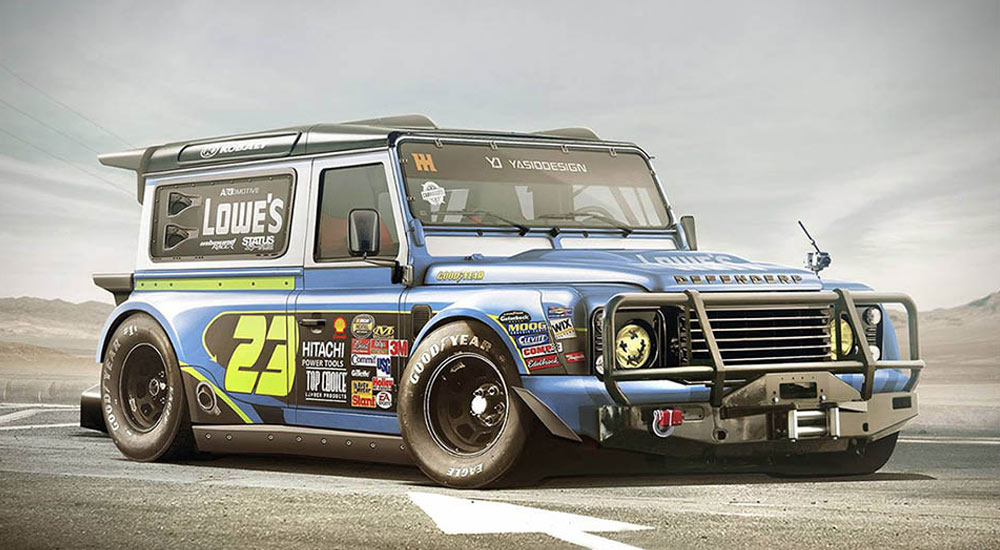 This-Land-Rover-Defender-Rendering-Is-Inspired-by-NASCAR