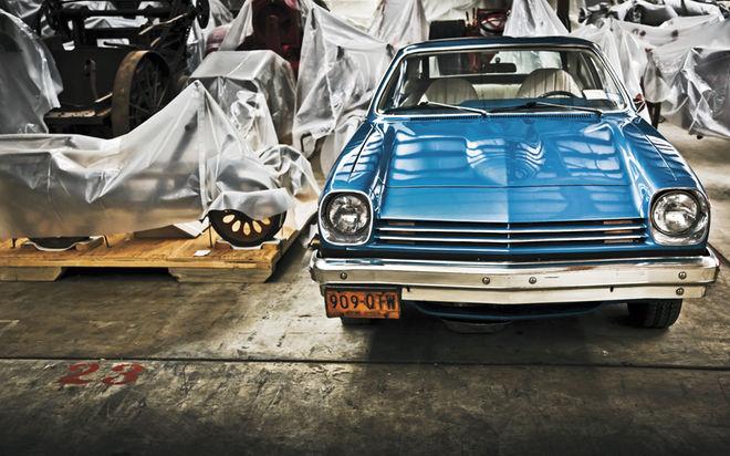 The-Smithsonian-Washington-DC-1977-Chevrolet-Vega-Hatchback