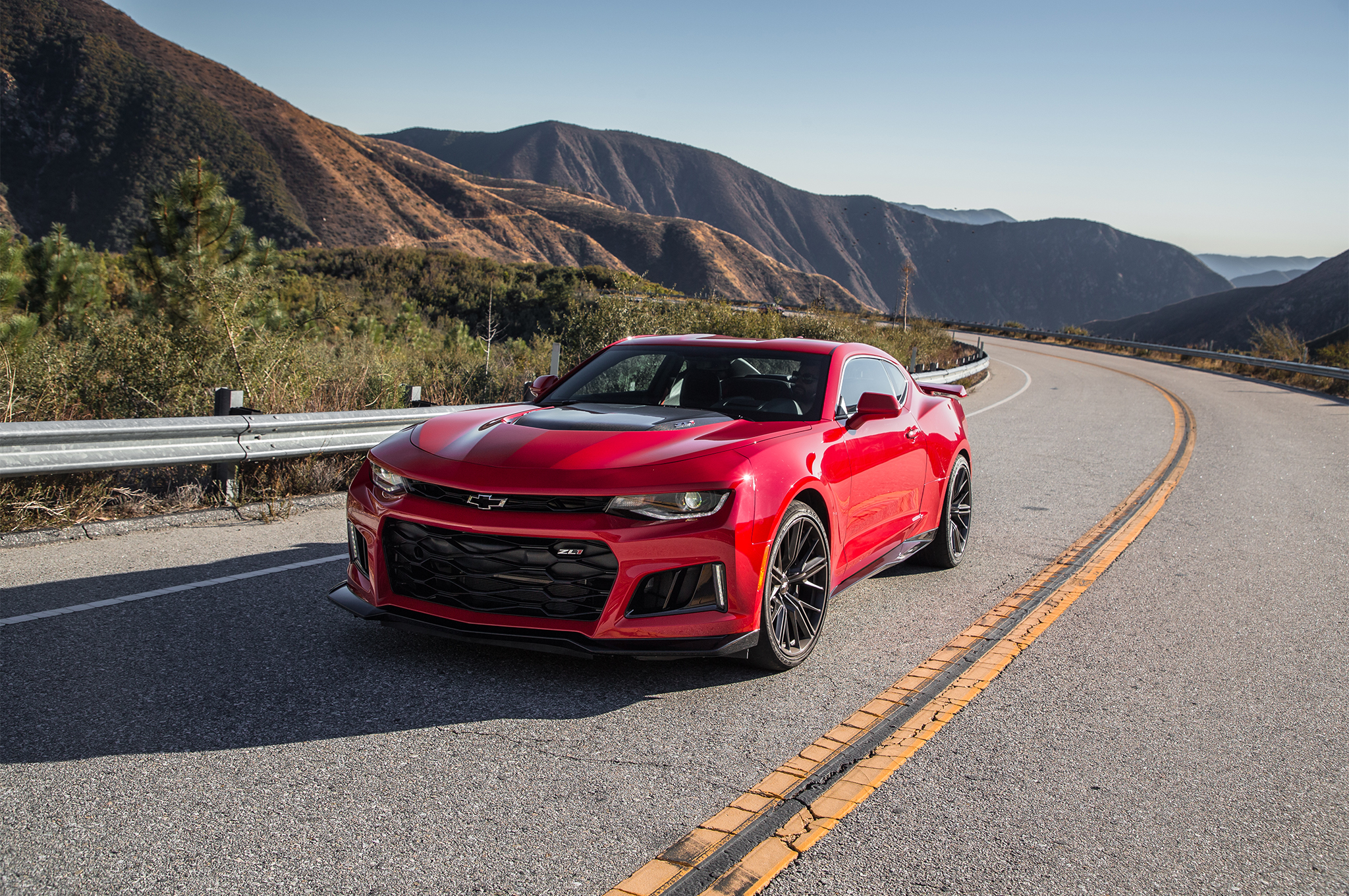 Car Ancestry2017 Chevrolet Camaro Zl1 Hit 200 Mph Car