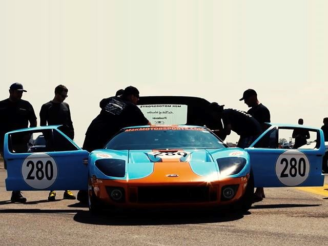 Car Ancestryford Gt Sets New World Record For Fastest
