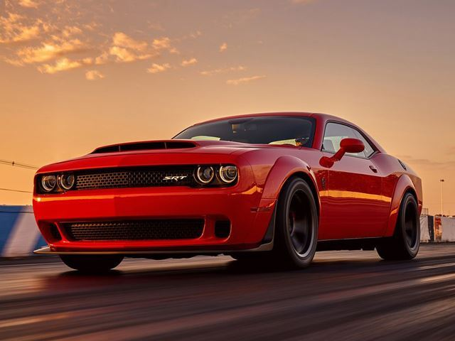 Car AncestryThis Dodge Demon Reservation Is Going For