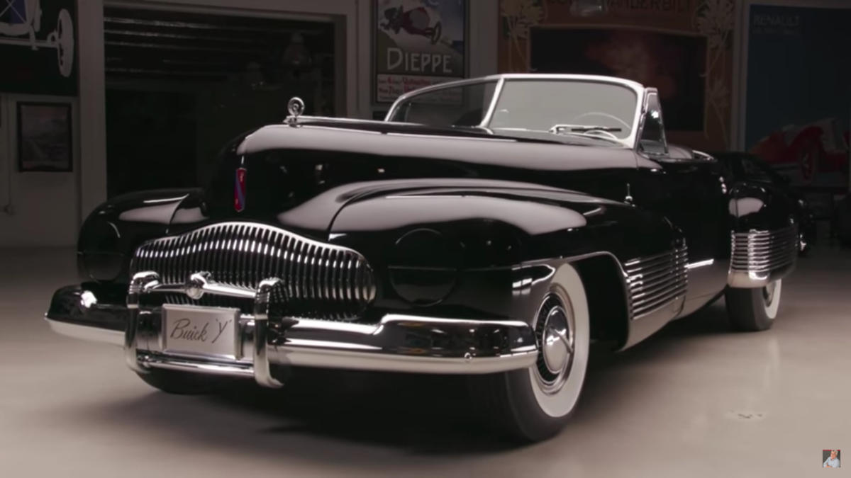 Car AncestryBuick Y-Job: Leno Takes The First Ever Concept Car For a ...